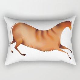 Horse a la Altamira Rectangular Pillow