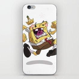 the Pineapple King iPhone Skin