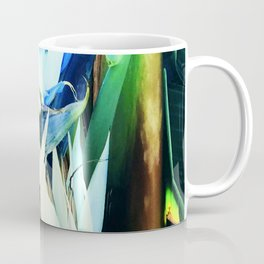 Exotic Bird of Paradise Flowers in Tropical Jungle Coffee Mug