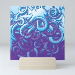 From the Deep Kraken Octopus Squid Tentacles Mini Art Print