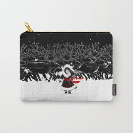 Night of Reindeer Carry-All Pouch