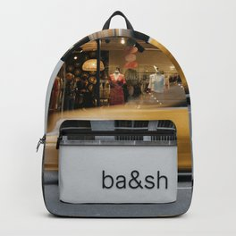 Luxury shop in Upper East Side of Manhattan,New York City Backpack