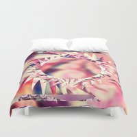 trippy Duvet Covers featuring Trippy  by Pink Berry Patterns