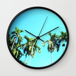 Beetle Nut Tree Wall Clock
