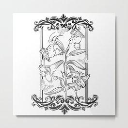 Sweet Pea Metal Print