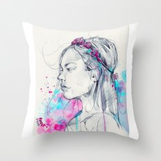 Lily III Throw Pillow