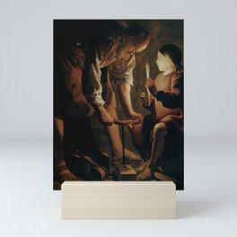 Georges de La Tour - Joseph the Carpenter Mini Art Print