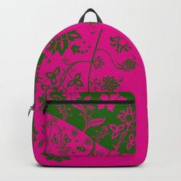 floral ornaments pattern rgm30 Backpack