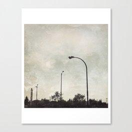 Urbania Four Canvas Print