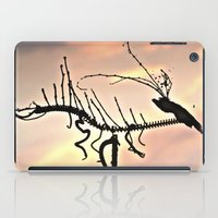 selena gomez iPad Cases featuring Dragon by Menchulica