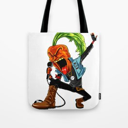 Carrot Frontman Of Vegan Band Tote Bag