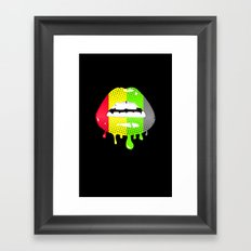 Peace n Love Framed Art Print