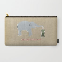 Elephant Friends Carry-All Pouch
