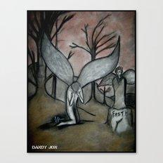 Faithless Canvas Print