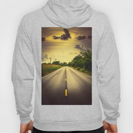 Louisiana Highway 82, an ample opportunity to see gators crossing the road Hoody