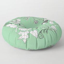 Forest Wreath Floor Pillow