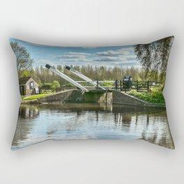 Bridge 221 On The Oxford Canal Rectangular Pillow