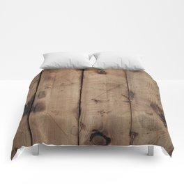 Burnt WoodGrain Comforters