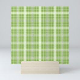 Spring 2017 Designer Colors Greenery Tartan Plaid Mini Art Print