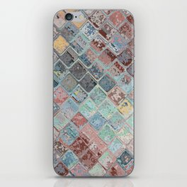 Colorful Abstract Tiles iPhone Skin