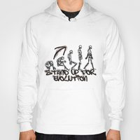 evolution Hoodies featuring EVOLUTION by AURA-HYSTERICA