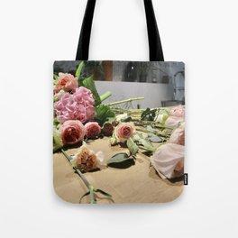 Kazakh Roses Tote Bag