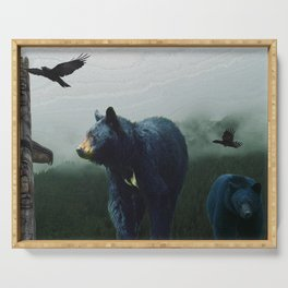 The Sacred Trail of the Great Bear Serving Tray