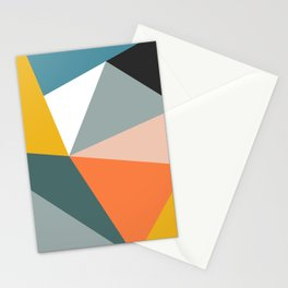 Modern Geometric 33 Stationery Cards