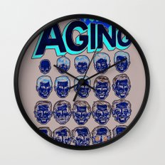 The Amazing Powers of Aging! Wall Clock