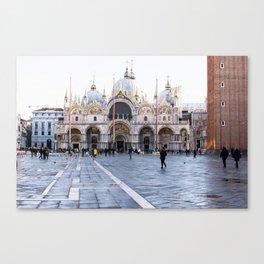 Venezia, San Marco Canvas Print