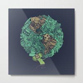 Prince Atlas Metal Print