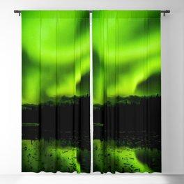 aurora borealis northern lights sky Blackout Curtain