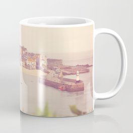 Cornish harbour. Coffee Mug