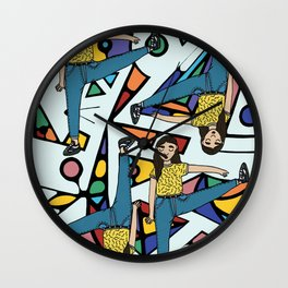 workout session Wall Clock