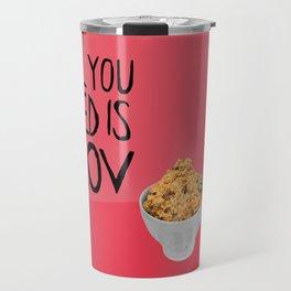 ALL YOU NEED IS PLOV Travel Mug