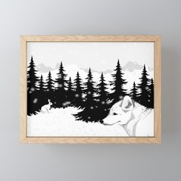 Arctic Animals - Arctic Tundra Framed Mini Art Print