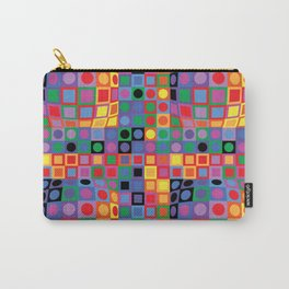Homage to Vasarely Carry-All Pouch