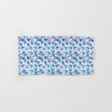 Ipomea Flower_ Morning Glory Floral Pattern Hand & Bath Towel
