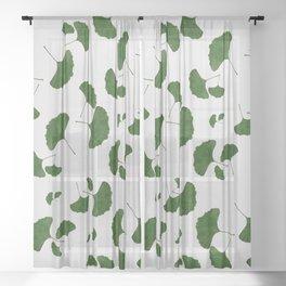 Ginkgo Leaf I Sheer Curtain