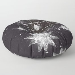 Mobile Stars Floor Pillow
