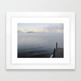 Maine Lake Framed Art Print