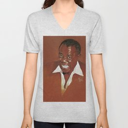 Louis Armstrong Unisex V-Neck