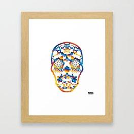 00 - COPERNICUS SKULL Framed Art Print