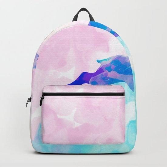 Abstract Deer Backpack