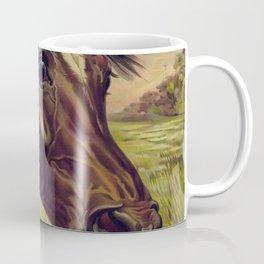 Startled Horse Coffee Mug