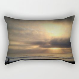 early riser Rectangular Pillow