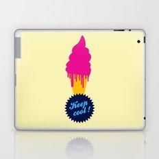 Ice cream - Keep cool  Laptop & iPad Skin
