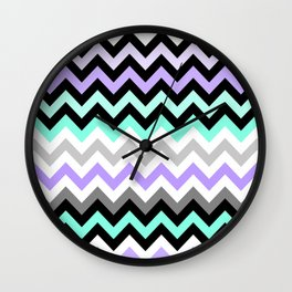 Chevron #14 Wall Clock