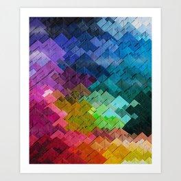 Just colors Art Print