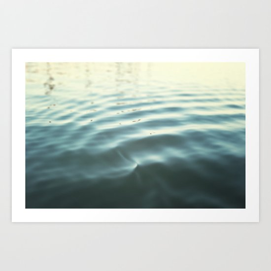Water Ripple Art Print